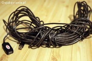 Kabel usb / przedłużacz 20m