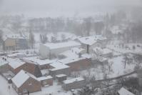 Osjaków z wieży kościelnej zimą-14