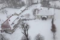 Osjaków z wieży kościelnej zimą-5